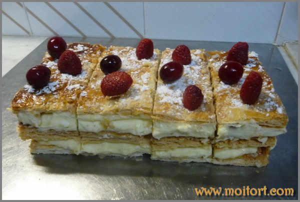Изумительный торт наполеон фото 3