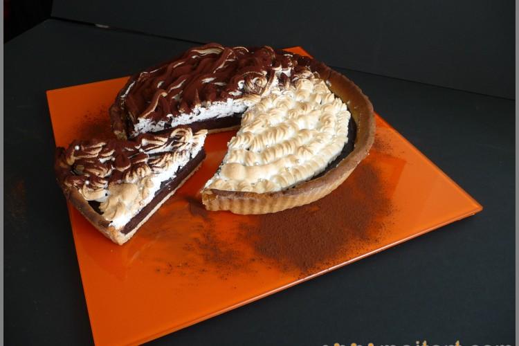 Pie with orange
