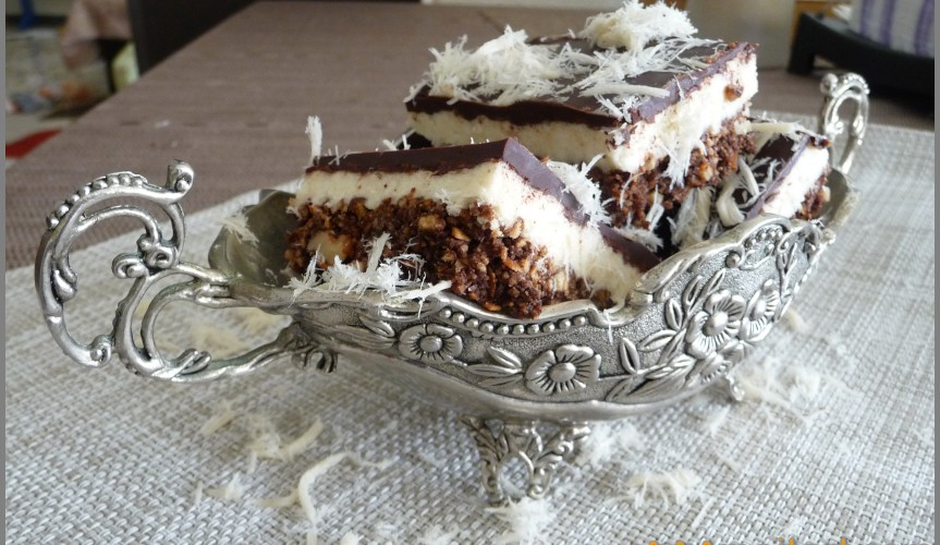 Pirozenoe chocolade with Halva