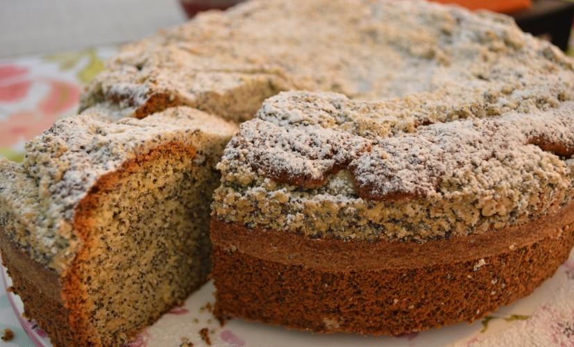 Opium cake with shteizel