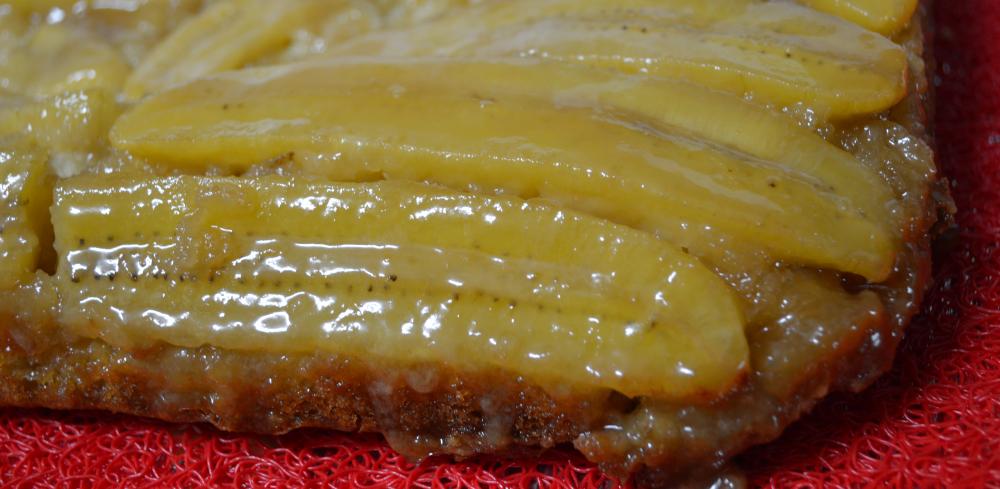 Tort Tatin banana