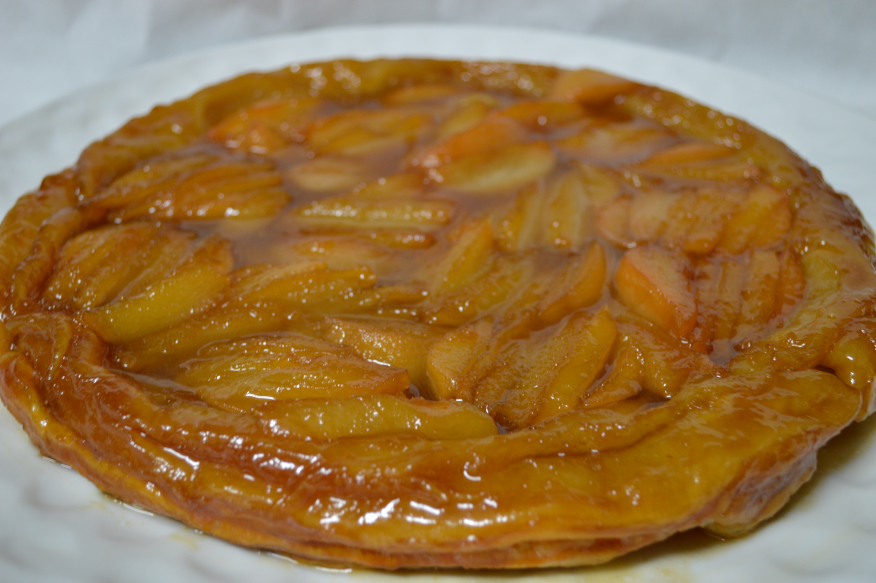 Tort Tatin pear